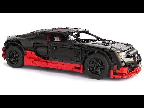 lego technic bugatti veyron super sport - youtube   lego technic