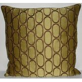 Found it at Wayfair - Oval Pod Embroidery Throw Pillow