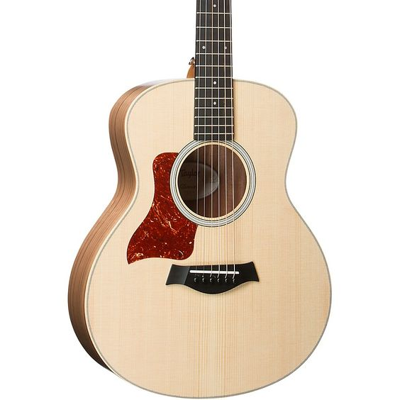 Taylor Gs Mini Series Gs Mini E Walnut Left Handed Acoustic Electric Guitar Natural In 2021 Acoustic Electric Guitar Acoustic Electric Guitar