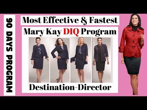 How To Become A Mary Kay Diq Director Fast The Most Effective Fastest Mk D I Q 90 Days Program Youtube Mary Kay Director Mary Kay Mary Kay Business