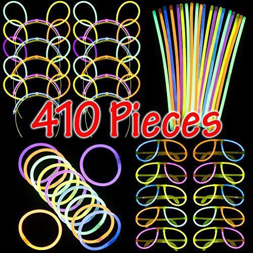 200 8 Inch Glow Bracelets TWISTER Light Sticks Free Ship