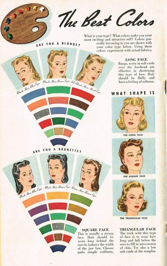 colours: