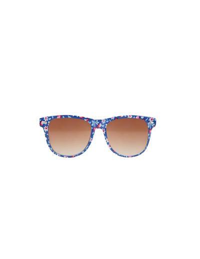 SuiteBlanco- Gafas de sol flores