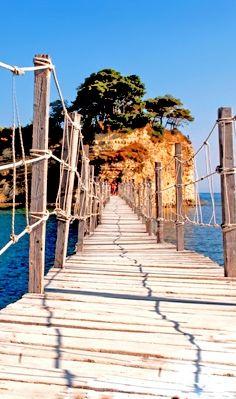 Bridge to Cameo Island, #Zakynthos, #Greece
