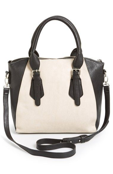 Cesca Two-Tone Satchel