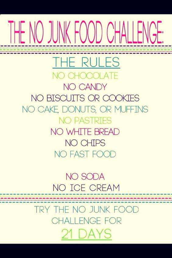 Trying To Loose Weight? Try The 21 Day No Junk Food Challenge !!! Plus Positive Words To Help#Health&Fitness#Trusper#Tip