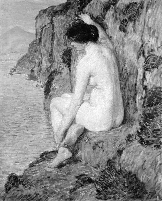 Childe Hassam - The Lorelei