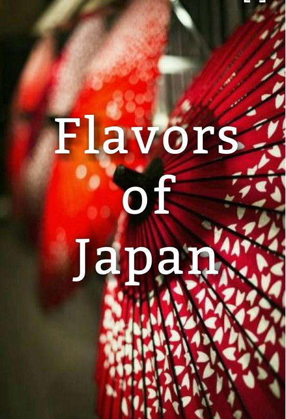 Flavors of Japan - @sweetearthfoods