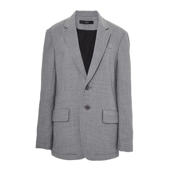 Tibi Flannel Quilted Men's Blazer ($645) ❤ liked on Polyvore featuring outerwear, jackets, blazers, quilted flannel jacket, flannel blazer, tibi blazer, tibi jacket and quilted jacket