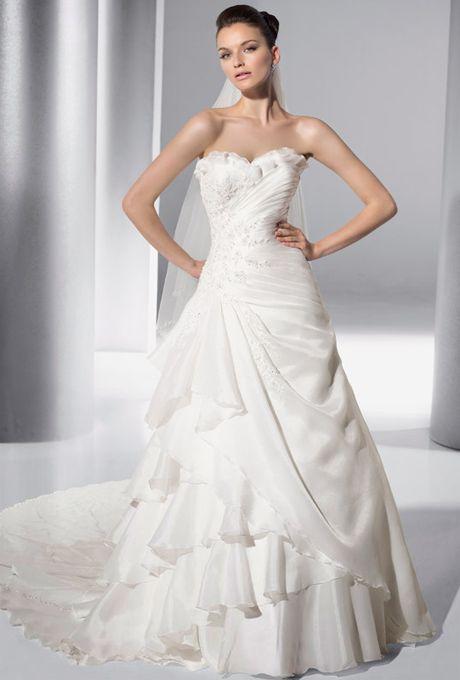 Demetrios - Illusions Wedding Gown - Style 3144 - (brides)