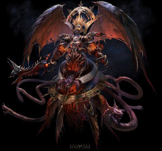 Demon lord by yuchenghong.deviantart.com on @deviantART