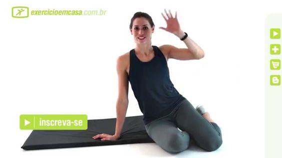 http://youtu.be/qt5pkq9zmdY Quer ficar com as pernas definidas sem sair de casa? Nessa aula a professora Lira Bueno vai te ensinar vários exercícios que vã