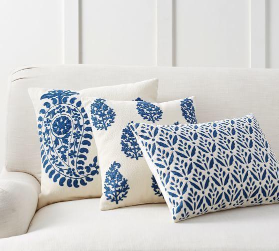Nami Pillow Giftryapp Throw Pillows Blue And White Pillows Pillows