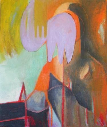 """Saatchi Art Artist Rosaria Onotri; Painting, """"Mona Lisa"""" #art"""