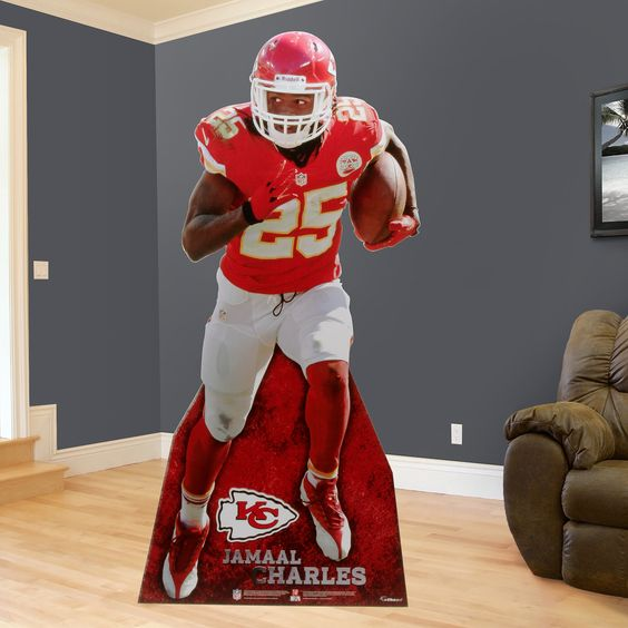 Jamaal Charles Stand Out Kansas City Chiefs Party Décor
