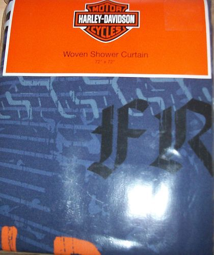 Harley Davidson Shower Curtain 72 X 72 On Sale Now Harley Bathroom Decor Pinterest