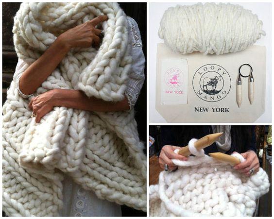 tricoter une grosse couverture nos conseils. Black Bedroom Furniture Sets. Home Design Ideas