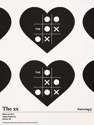 The XX. Poster by Alvin Diec