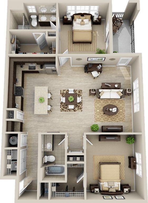 Pin By Hurricane Tyler On Floor Plans Sims House Plans House Floor Plans House Layout Plans