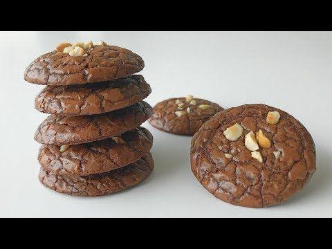 7 Brownies Cookies Recipe Resepi Biskut Raya Brownies Youtube Cookie Recipes Brownie Cookies Cookie Brownie Recipe