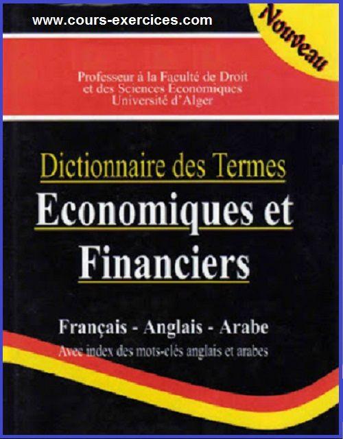 Telecharger Dictionnaire Des Termes Economiques Et Financiers En Pdf Cours Et Exercices Corriges Finance Tech Company Logos Accounting