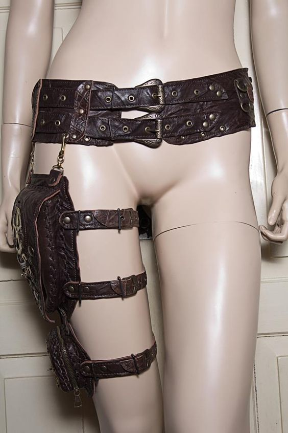 Utility Belt with thigh pouches