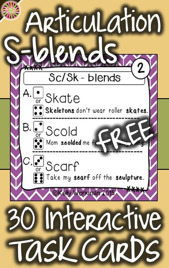Looking for engaging articulation materials and activities? DICE DECKS are interactive task cards that allow students to play and work on their speech sounds at the same time! This grab and go resource puts some fun back into articulation drill work. Click to view this FREE S – blends deck and try them out for yourself!