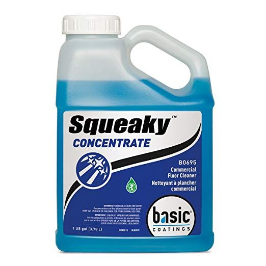 Basic Coatings Sqk Conc Gal Squeaky Concentrate Cleaner 1 Gal Review With Images Commercial Floor Cleaning Cleaning Household Cleaners