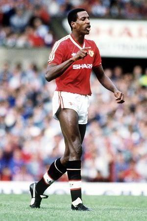 """Vivian """"Viv"""" Anderson (Manchester United FC, 1987–1991, 54 apps, 3 goals) kept place in team despite Fergie fury. Anderson can almost still feel the blast of the Hartlepool hairdryer. Right-back Anderson was Alex Ferguson's 1st signing at ManUnited in the summer of 1987."""