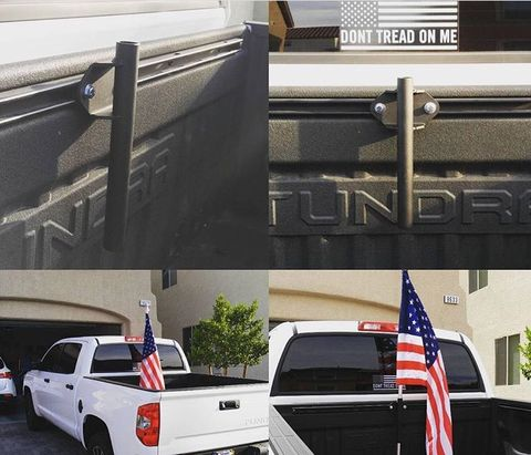 Toyota Bed Rail Flag Holder Flag Holder Toyota And Toyota Tundra