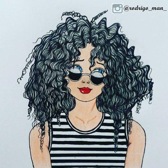 Morena cabelo afro cheio - 5 3