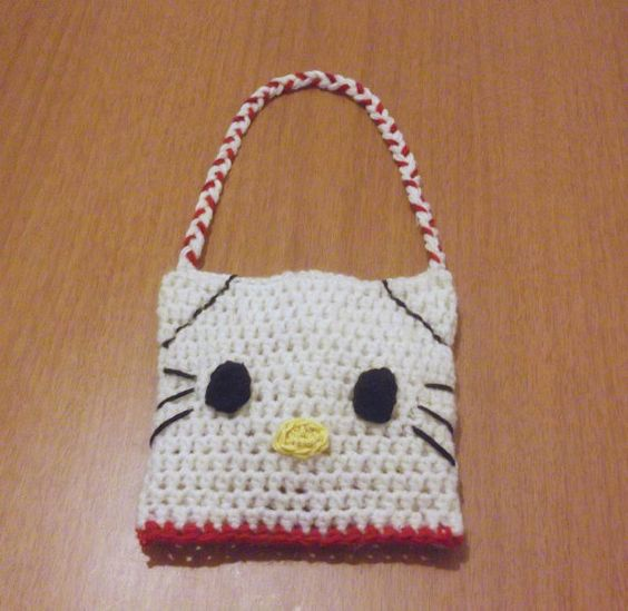 Crochet Purse Patterns Hello Kitty : Cars, Hello kitty crochet and Crochet patterns baby on ...