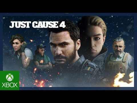 Just Cause 4 Launch Trailer Xbox One Video Games Xbox One Console Xbox One Games