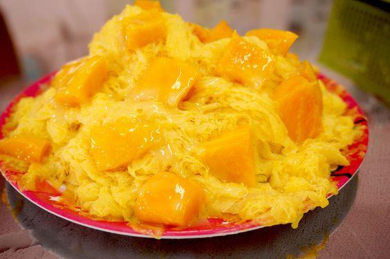 Mango shave ice