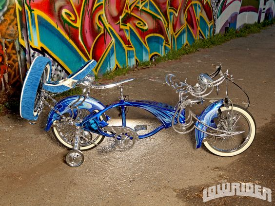 Custom Lowrider Bicycles | Custom Lowrider Bicycle Side View