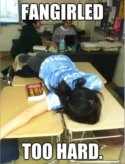 Hahahahhaha!!!!! Kpop fan girl!!!!