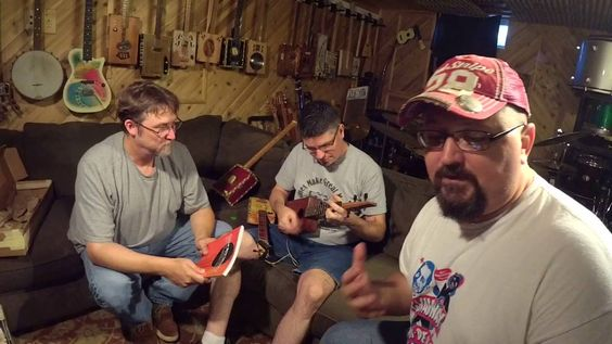 Cigar Box Nation TV:  Bill Jehle, Ben Gitty and Shane Speal