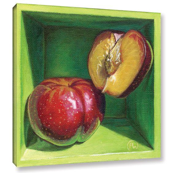 ArtWall Paige Wallis 'Sweet Cheeks' Gallery-wrapped