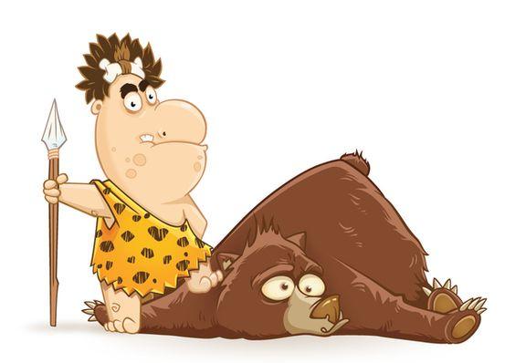 Jabba-Dabba-Du! / Эй, где мой мамонт? on Behance