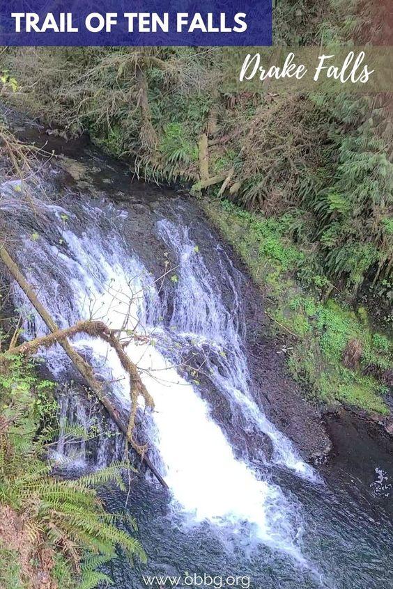 Drake Falls Waterfall
