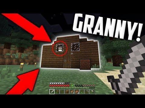 Il Rituale Nella Casa Di Granny Minecraft Horror Seed Minecraft Seeds Creepypasta