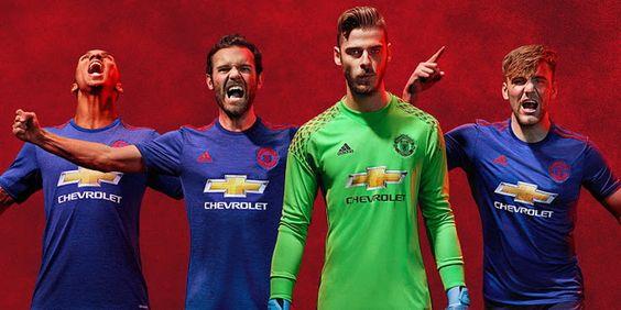 Ceci est le nouveau Maillot de foot Manchester United pas cher pour la saison 2016/2017;:
