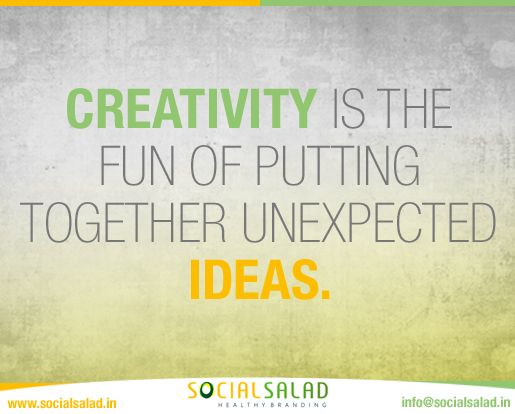 We #socialsalad have all the time unexpected fun