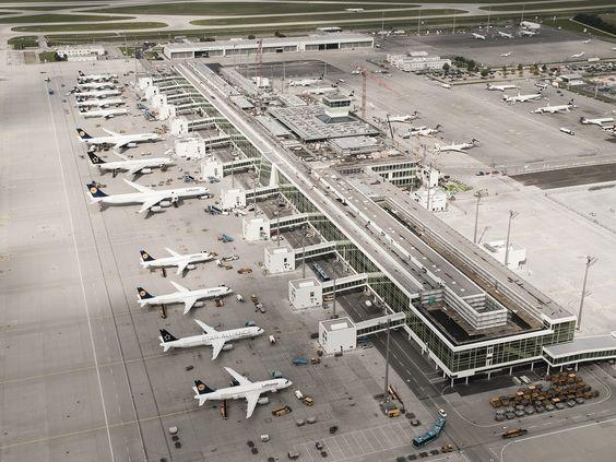 Münih Havalimanı'nın Yeni Uydu Terminali Açıldı | Havayolu 101