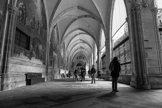 Cloister of the Primate Cathedral of Saint Mary of Toledo
