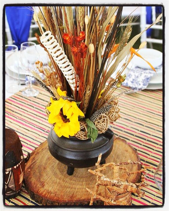 Traditional wedding and african weddings on pinterest for African wedding decoration theme