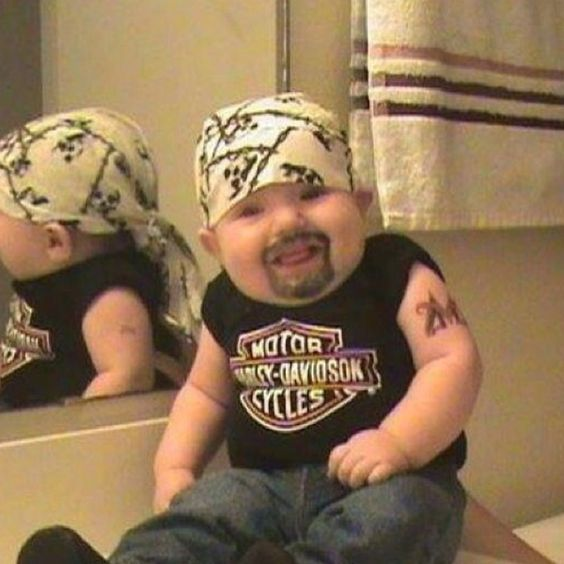 Great Halloween costume for baby!!!  Cracks me up!