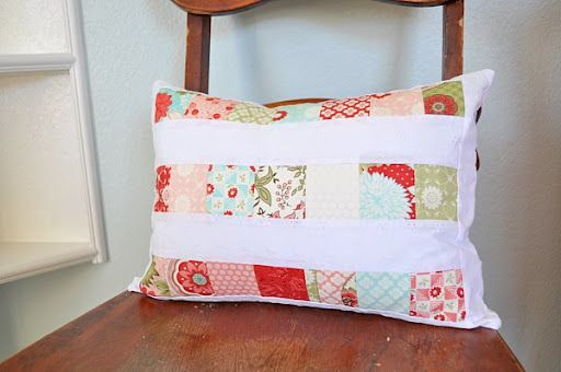 Simple pieced pillow cover tutorial