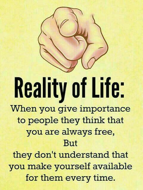 Reality of life #quotes