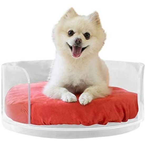 Rechi Design Manufacture Lifestyle Acrylic Furniture Home Furnishing Acrylic Pet Dog Bed In 2021 Dog Bed Furniture Dog Bed Large Luxury Large Dog Beds